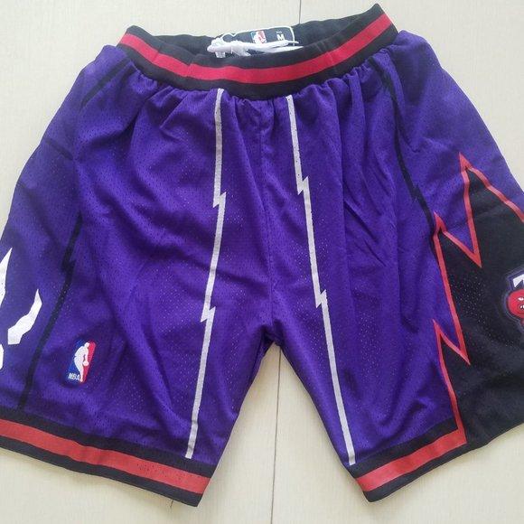 Raptors Purple Retro Pants